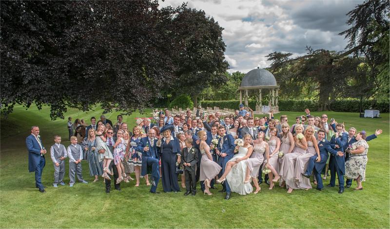 0135 - Leeds Wedding Photographer - Wentbridge House Wedding Photography -