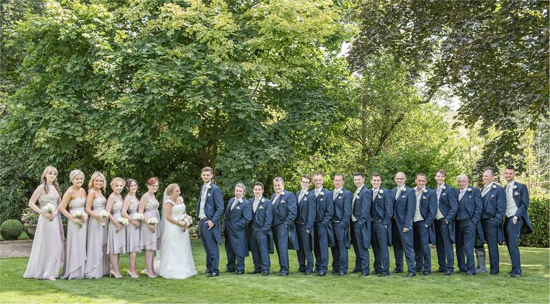 0189 - Leeds Wedding Photographer - Wentbridge House Wedding Photography -