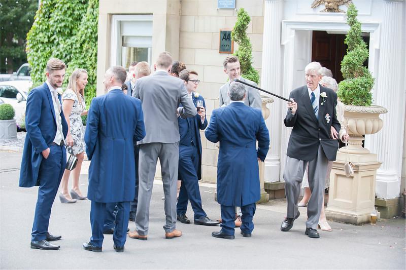 0078 - Leeds Wedding Photographer - Wentbridge House Wedding Photography -