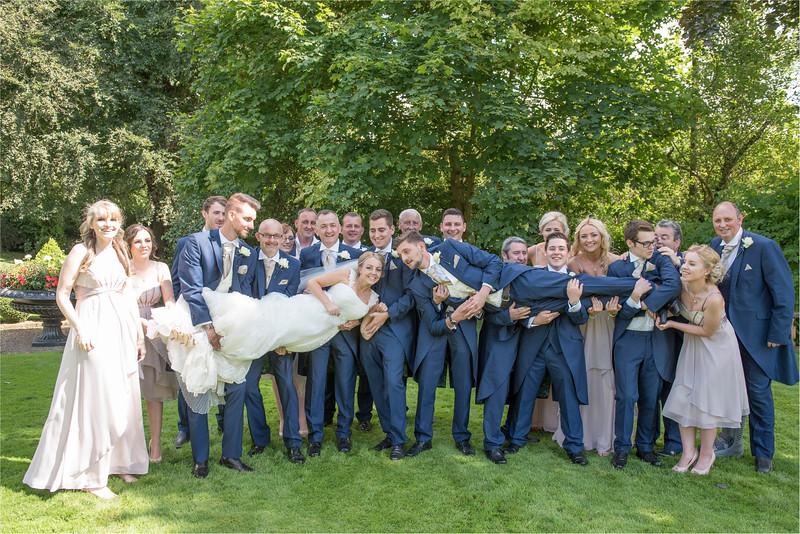 0193 - Leeds Wedding Photographer - Wentbridge House Wedding Photography -