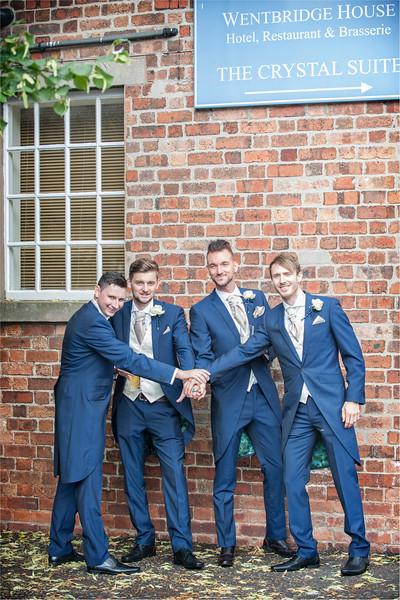 0054 - Leeds Wedding Photographer - Wentbridge House Wedding Photography -