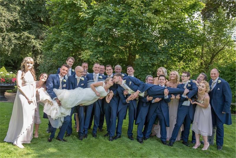 0194 - Leeds Wedding Photographer - Wentbridge House Wedding Photography -