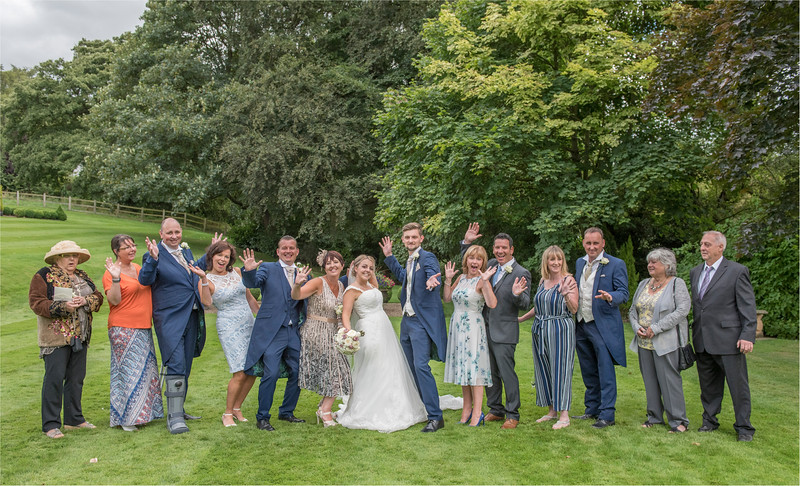 0145 - Leeds Wedding Photographer - Wentbridge House Wedding Photography -