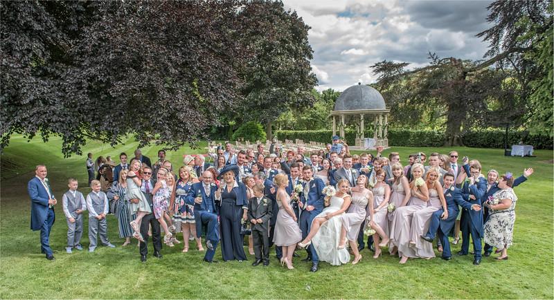 0134 - Leeds Wedding Photographer - Wentbridge House Wedding Photography -