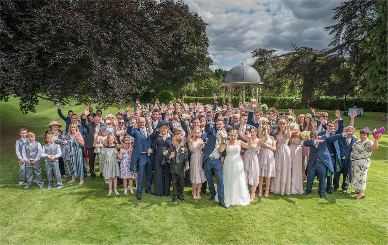 0132 - Leeds Wedding Photographer - Wentbridge House Wedding Photography -