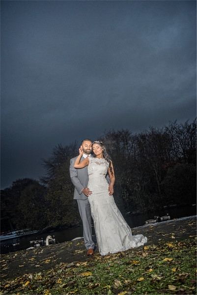 0176 - Asian Wedding Photography in West Yorkshire - -