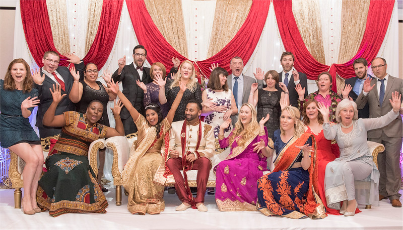 0218 - Asian Wedding Photography in West Yorkshire - -