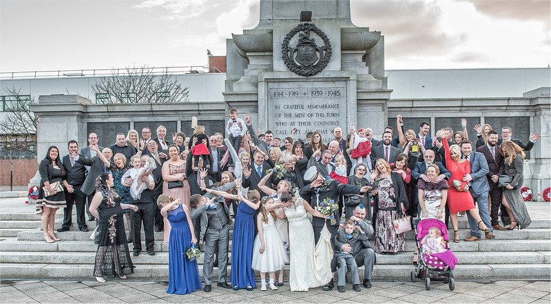 0151 - Hartlepool Wedding Photographer - Creative Wedding Photography -