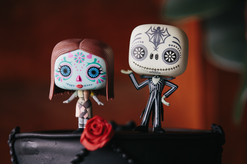 Tim Burton Inspired Cake Toppers