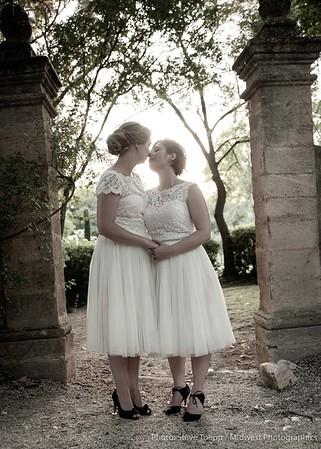 Karen and Elodie's Detroit Reception (and a few wedding shots)