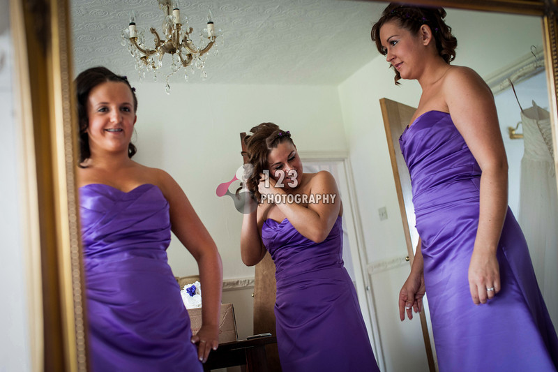 wedding photography at Middleton St. Mary's Church and The Holiday Inn, Garforth