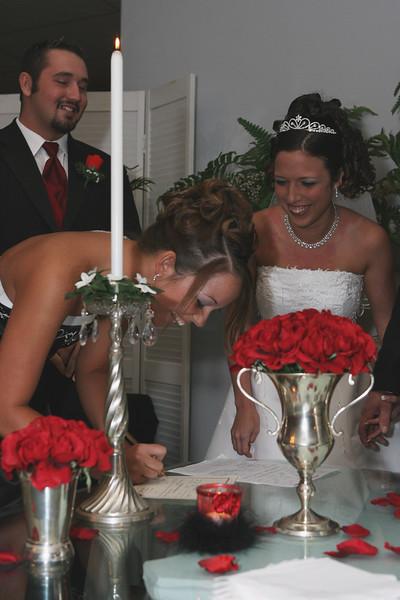 Carrie and Kurt Wedding 04 07 2007 A 215ps