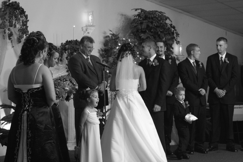 Carrie and Kurt Wedding 04 07 2007 B 113psbw