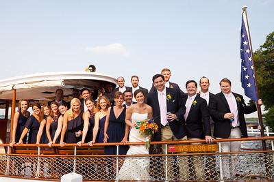 Wedding party shuttle on the Polaris