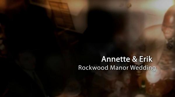 Annette Erik Rockwood Manor Potomac Maryland Wedding Photo Show  Click Arrow to Play Show