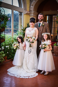 Stephanie & Richards Wedding Day Clevedon Hall Somerset