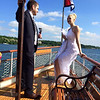 Beautiful wedding ceremony on the Polaris