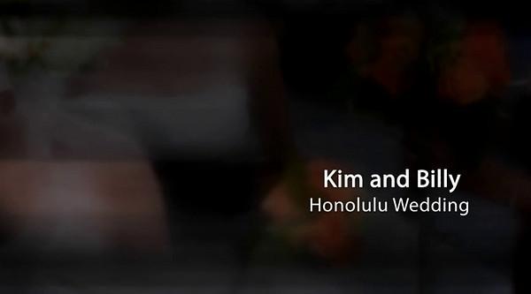 Kim and Billy Honolulu Wedding  Click Arrow To Play Show