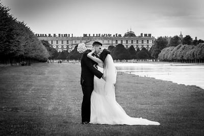 Kellie & Paul Merifeild Wedding Day. Hampton Court Palace Golf Club 06.08.2017