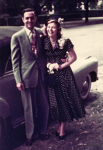 Mom and Dad's wedding in 1949, in New York.