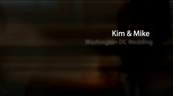 Kim & Mike Washington DC Wedding Show for HIM !!!!  Click Arrow to Play Show