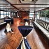 Upper deck of the Grand Belle ready for cocktails!