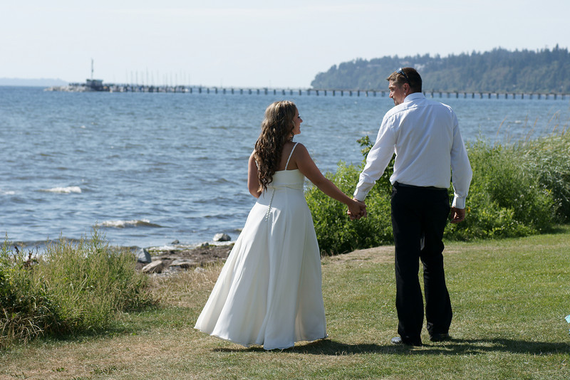 Ky and Ante outdoor wedding.