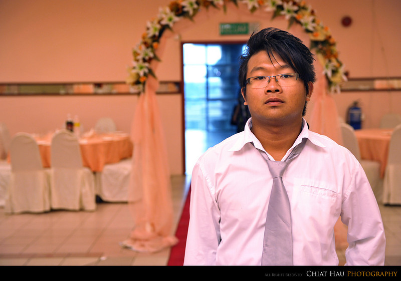 Guess who is this. He is Chee Wei's brother