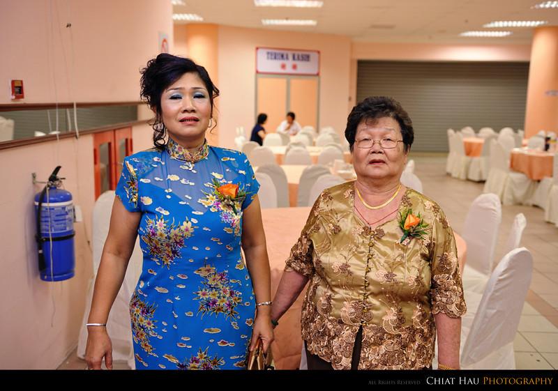 Mom and Grandma for a shoot