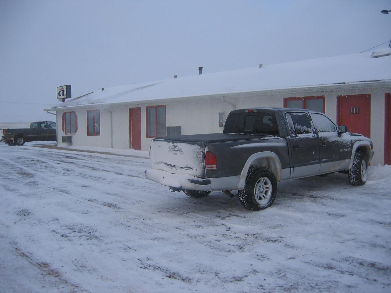 The Halliday motel