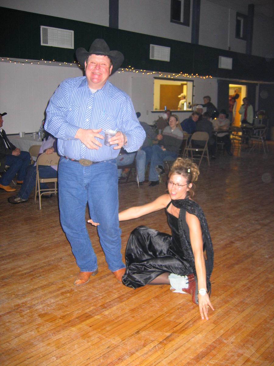 Apparently a new North Dakota line dance