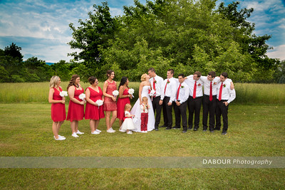 Formal Photos of Erin and Stephen Haug