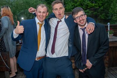The Williams wedding reception