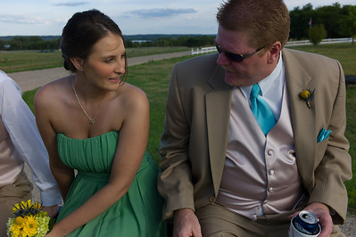 The wedding of Jacob and Kelly Wilson in Chillicothe, Illinois on August 18, 2012. (Jay Grabiec)
