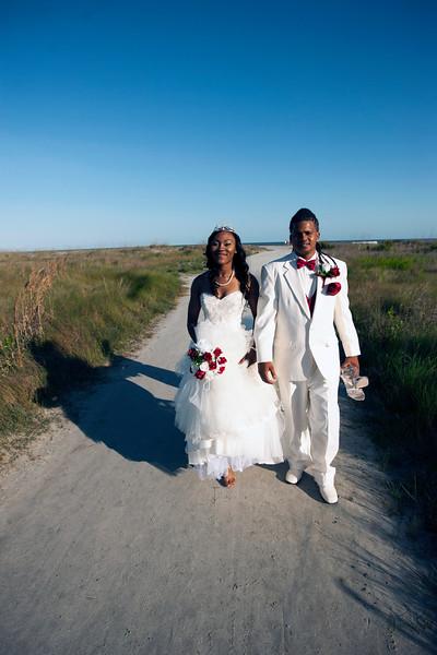 Markez and Nicole Wilson