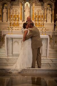 The wedding of Jacob and Kelly Wilson in Peoria, Illinois on August 18, 2012. (Jay Grabiec)