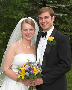 Wonderfully Rainy Day Wedding