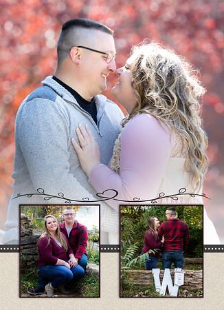 Back Worden wedding 4 invite
