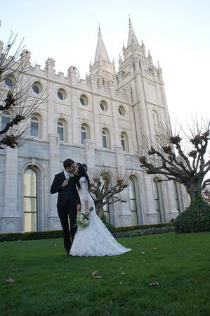 Wedding - Xan and Spencer