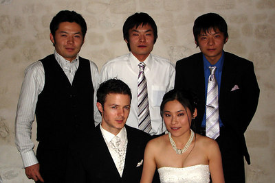 Yasuko's brothers and husband - Murten, Switzerland ... March 3, 2007 ... Photo by Rob Page III