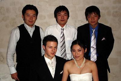 Yasuko's brothers and husband - Murten, Switzerland ... March 3, 2007 ... Photo by Rob Page III