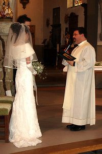 Yasuko and Nicolas about to say their vows - Fribourg, Switzerland ... March 3, 2007 ... Photo by Rob Page III