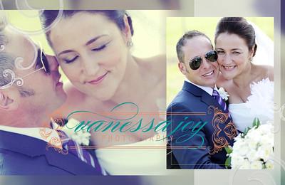 yoli wedding album layout 021 (Sides 41-42)