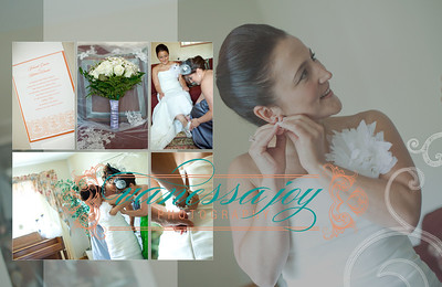 yoli wedding album layout 007 (Sides 13-14)