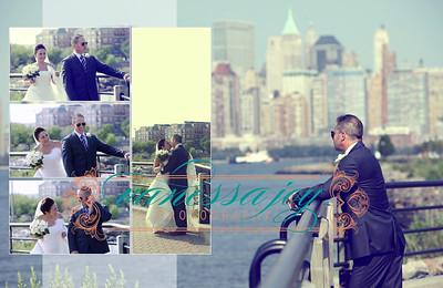 yoli wedding album layout 014 (Sides 27-28)