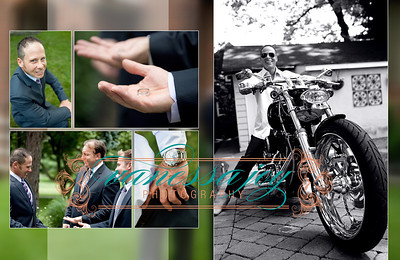 yoli wedding album layout 009 (Sides 17-18)
