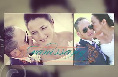 yoli wedding album layout 020 (Sides 39-40)