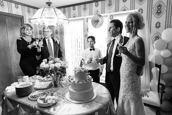 Cake Cutting & Toasts