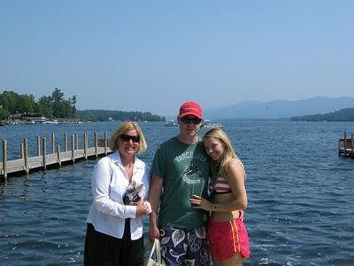 Zac & Bobb's Wedding Weekend, Lake George 8-4-12