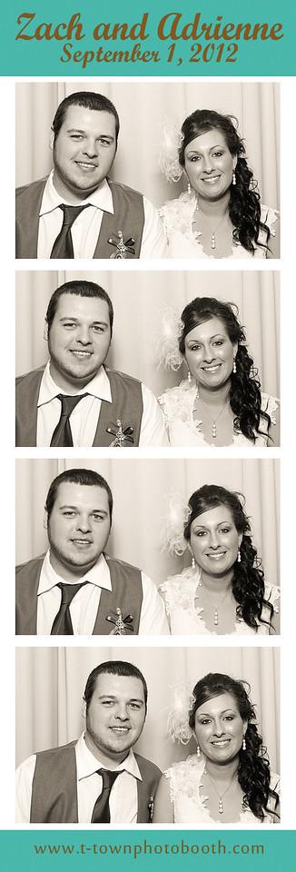 Zach and Adrienne
